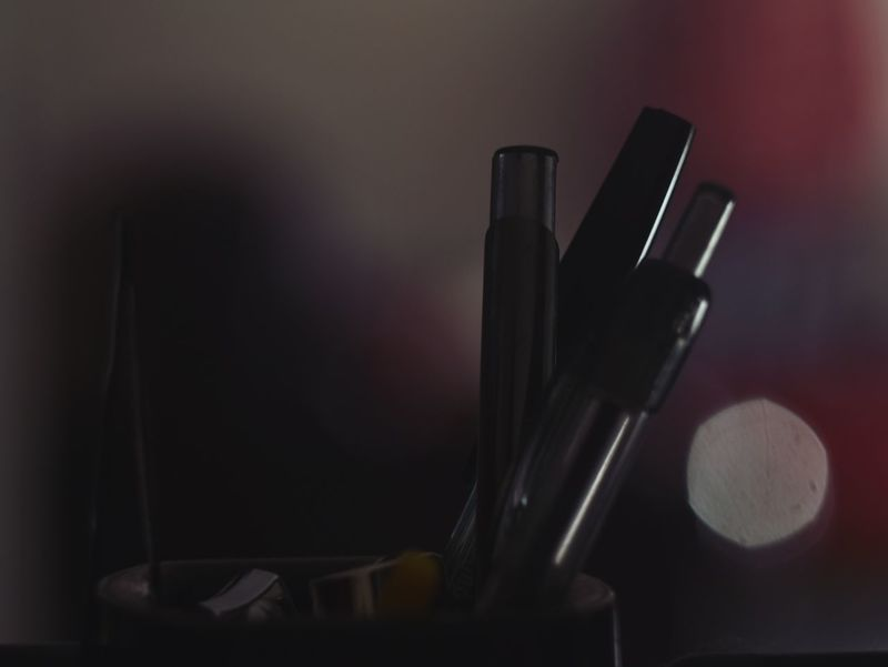 Pens Bokeh Tweezers Supplies Stationary Nib Beauty Product Close-up