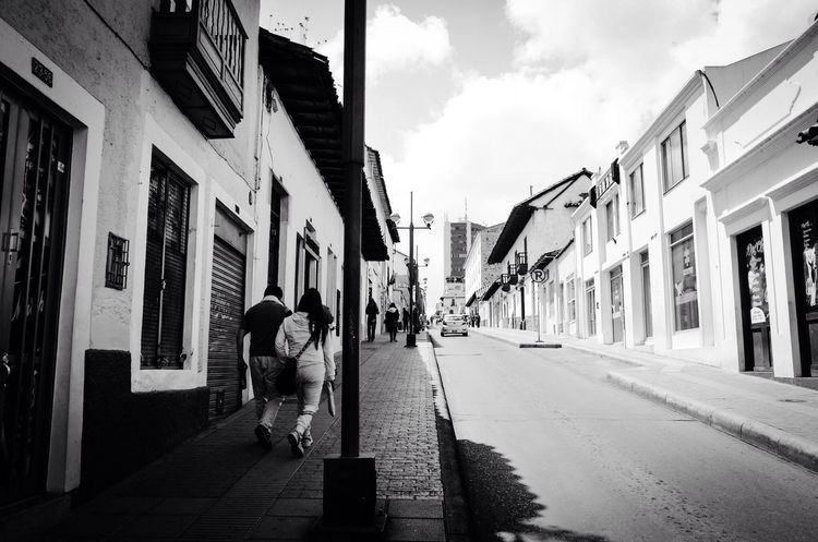 Real People Lifestyles Day Streetphotography Blackandwhite People Tunja From My Point Of View