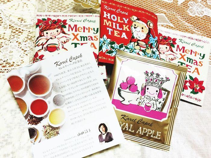 Karel Capek Blacktea UtakoYamada Christmas Gift