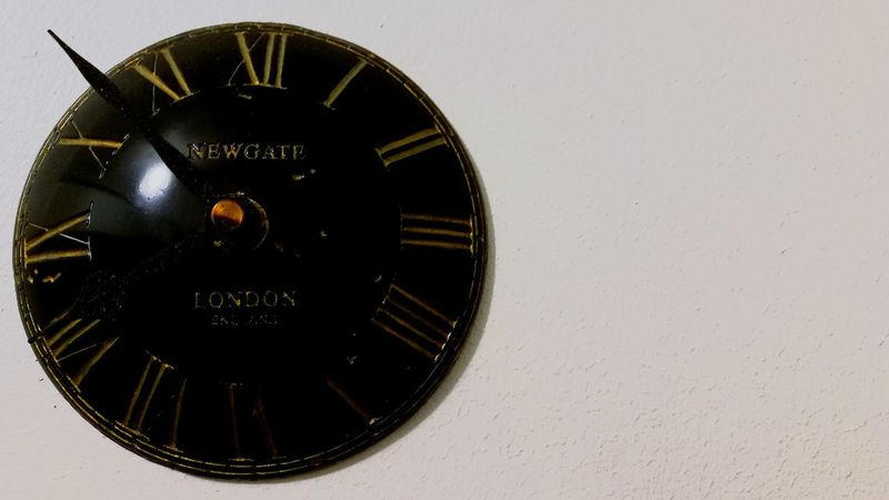 Indoors  Architecture Roman Numeral No People Close-up Time Clock Minute Hand Clock Face Day