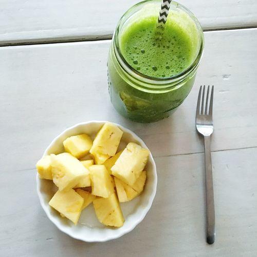 Breakfast Pineapple Cleaneating Healthy Food
