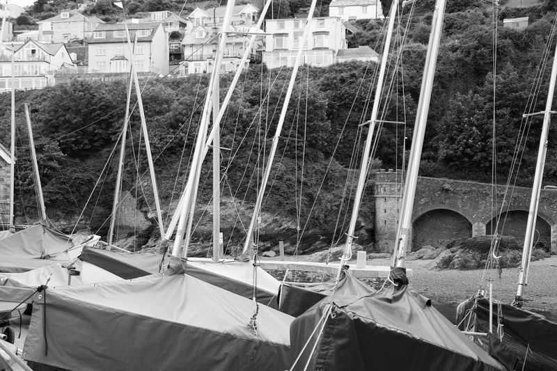 Black And White Black And White Photography Boats Canon1200DPhotography Canonphotography Cornwall Day Kernow Looe Masts Outdoors Tamron 18-200 Tourism Travel Destinations