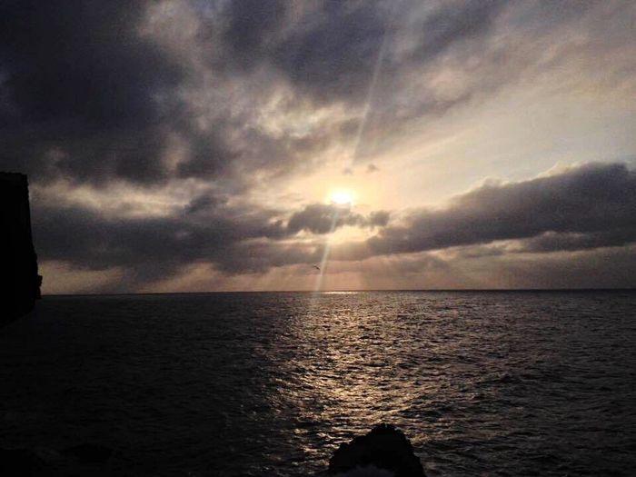 Sea Sunset Sun Beach Saidia Morocco Oujda Cloud - Sky Live For The Story