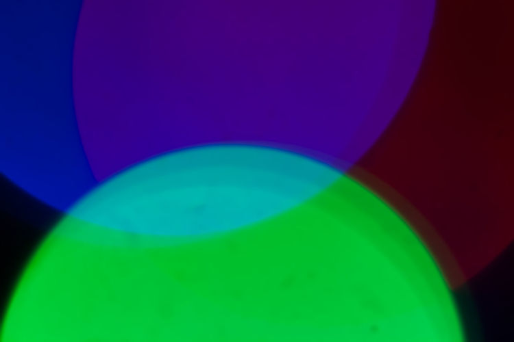 Abstract Bokeh Close-up Colored Background Experimental Green Color Illuminated Lens Multi Colored Spectrum Studio Shot