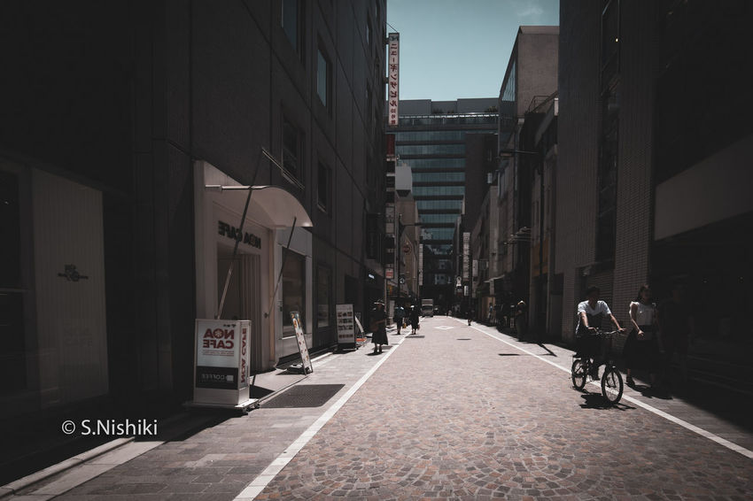 Ginza Street Snap City Japan Photography Japanese  Life Architecture Building Exterior City Day Outdoors Street Streetphotography Walking