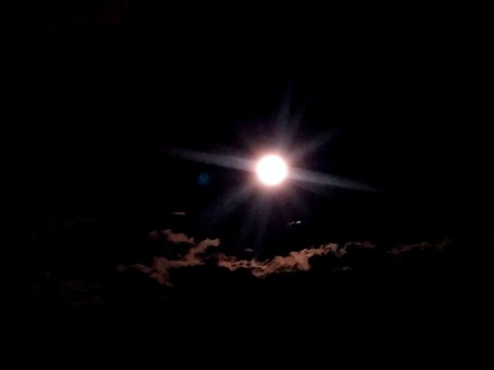 Illuminated Beauty In Nature Moon No People Outdoors Scenics Sky Clouds