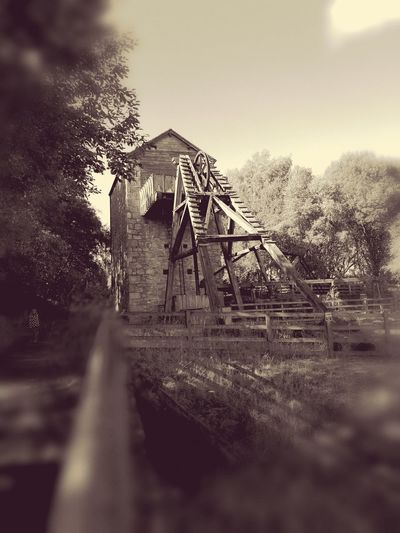 Industrial past Architecture Countryside Rural Scene Selective Focus Outdoors