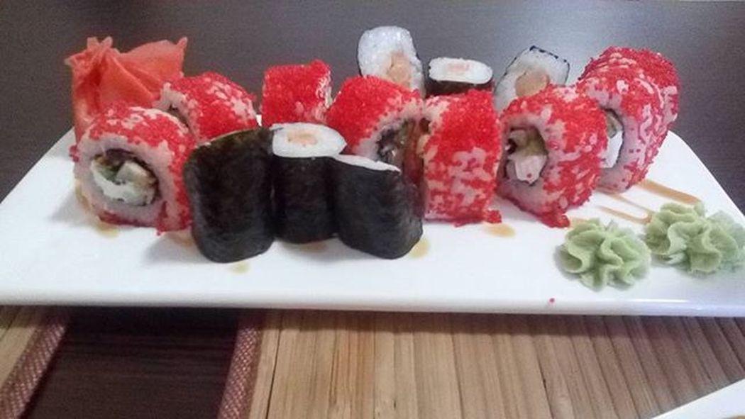 Суши -бар сакура щелкино нямка
