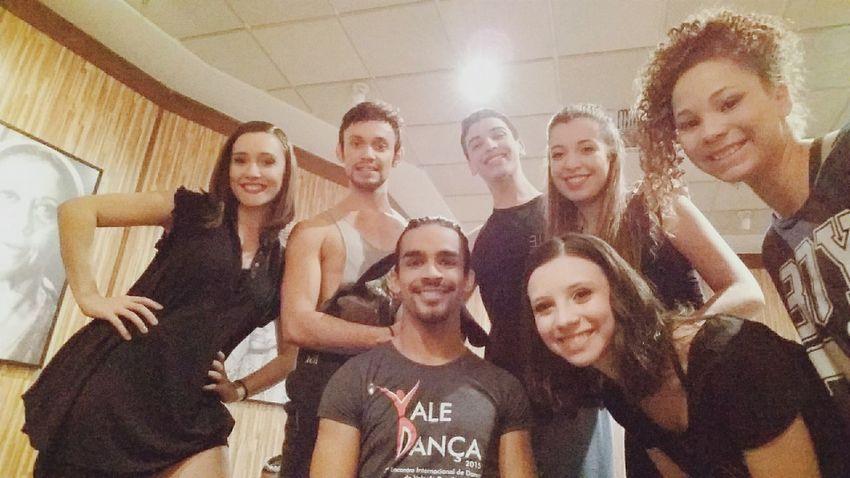 Sensacional dividir o palco com vocês, uma honra! Ballet Contemporary Dance Elo Elociadedanca