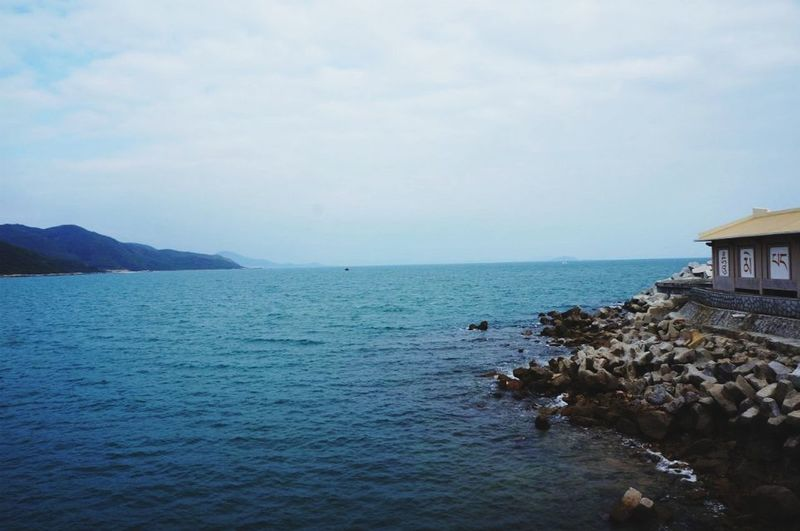 Nature Enjoying Life Relaxing Travaling Hello World Sea Blue Bleu