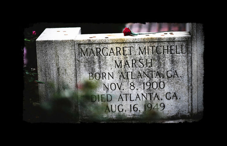 Margaret Mitchell Author of Gone With The Wind Oakland Cemetery, Atlanta Georgia Getting Inspired Eye4photography  Cemetery Atlanta Ga Rosé Memorial