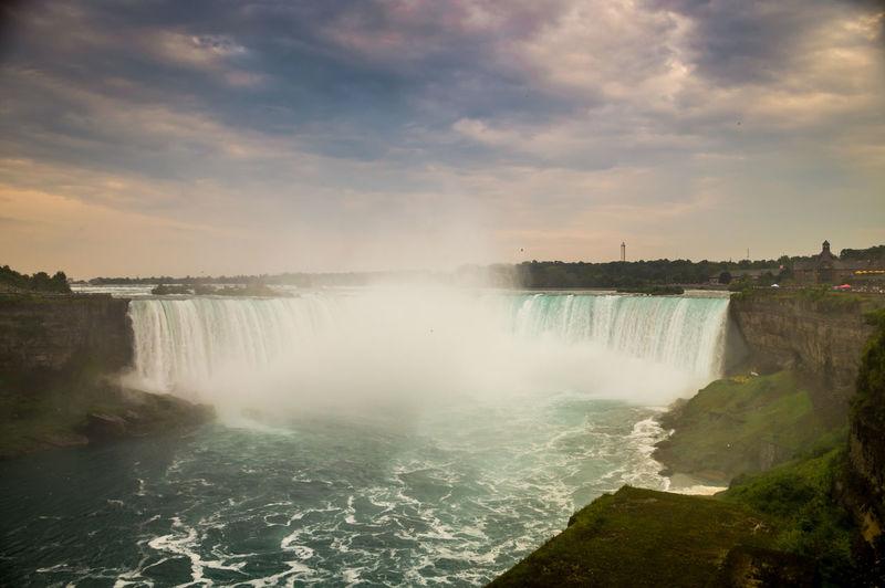 Horshoe Falls of Niagara Falls HorshoeFalls Niagara Falls Landscape Nature Scenics Water Waterfall