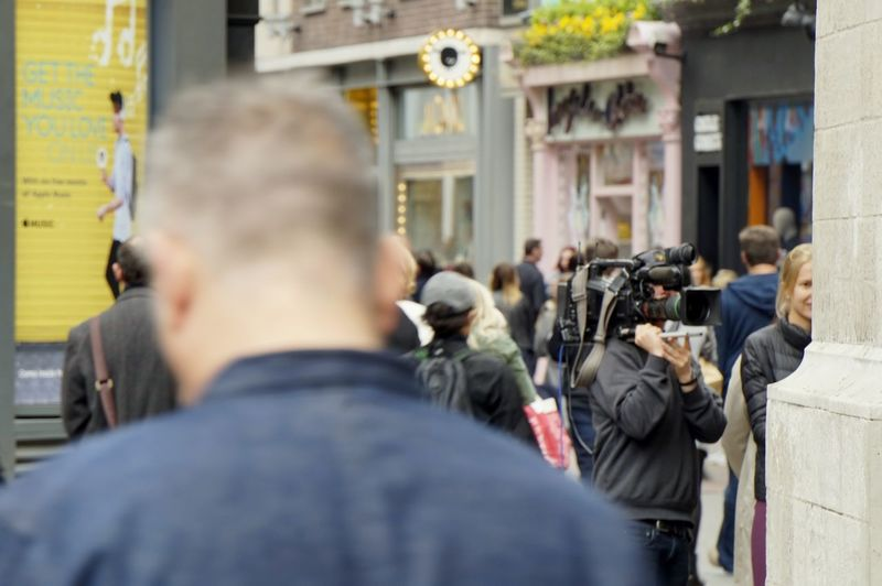 1506. Camera Camera - Photographic Equipment Camera Man Camera Work CameraMan Carnaby Street City City Life Europe Film Film Photography Filming London London Lifestyle People People And Places People And Places. People Of EyeEm People Photography People Watching Peoplephotography Recording Shops The Street Photographer - 2017 EyeEm Awards Live For The Story