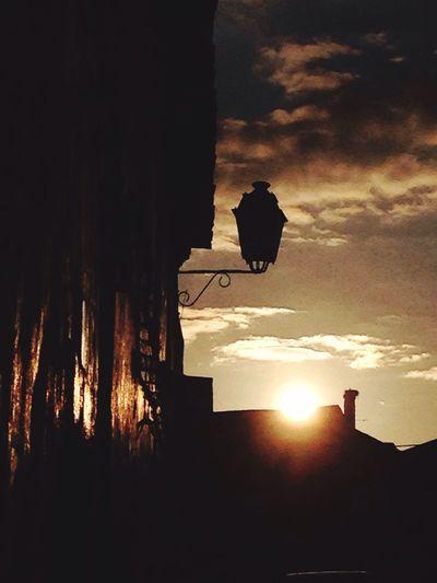 Sunset Arronches