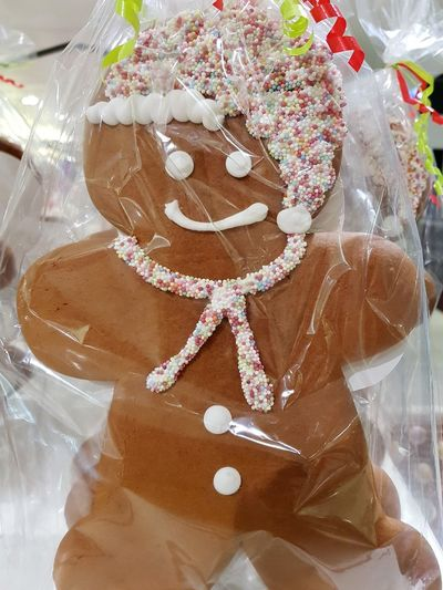 Cakes Baked Cake Celebration Christmas Decoration Decorated Ginger Bread Decoration Dessert Event Food Food And Drink Freshness Ginger Ginger Bread Man  High Angle View Indoors  Indulgence John Lewis Life Events No People Plastic Bag Still Life Sweet Sweet Food Temptation