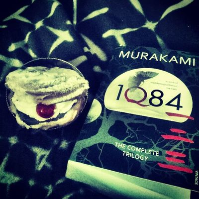 Chouxalacreme 1Q84 Perfect Combination 😍