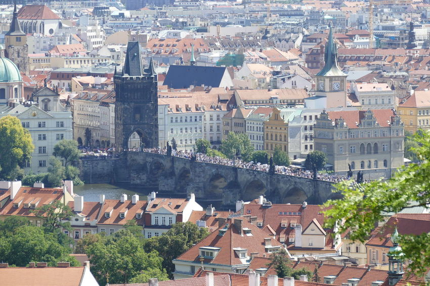 City Exploring Exploring New Ground Houses Meditation Nature Prague Prague Czech Republic Prague Bridge Prague River Tourist Tree Architecture Background Beauty In Nature Capital Cities  Dawn Day House Outdoors Overlooking River Sky Tourism Vacation