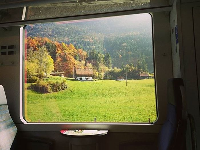 Golden Pass scenic train (done too) Scenictrain Goldenpass Swisspass Switzerland Trainview Travelbytrain Beautifuldestinations