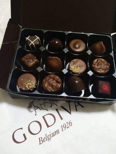 Godiva Happytime Whiteday Thankyou 😆😆🙌🙌🙌