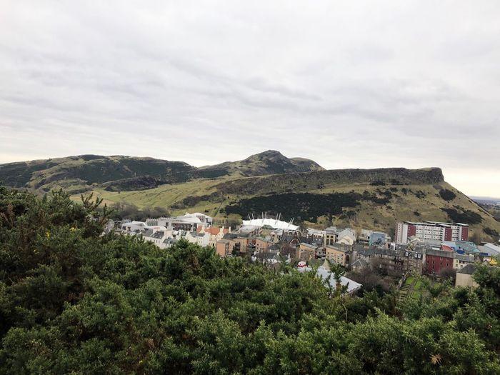 Edinburgh 🏴 Scotland Edinburgh Calton Hill Nature Day Sky Outdoors Beauty In Nature Plant Architecture