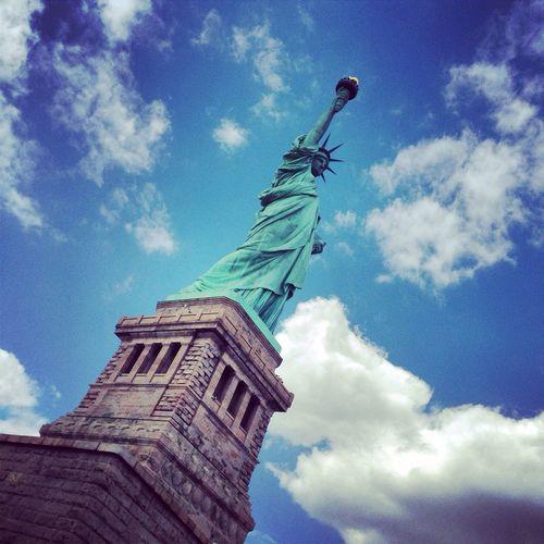 #state_of_liberty نيويورك تمثال الحرية