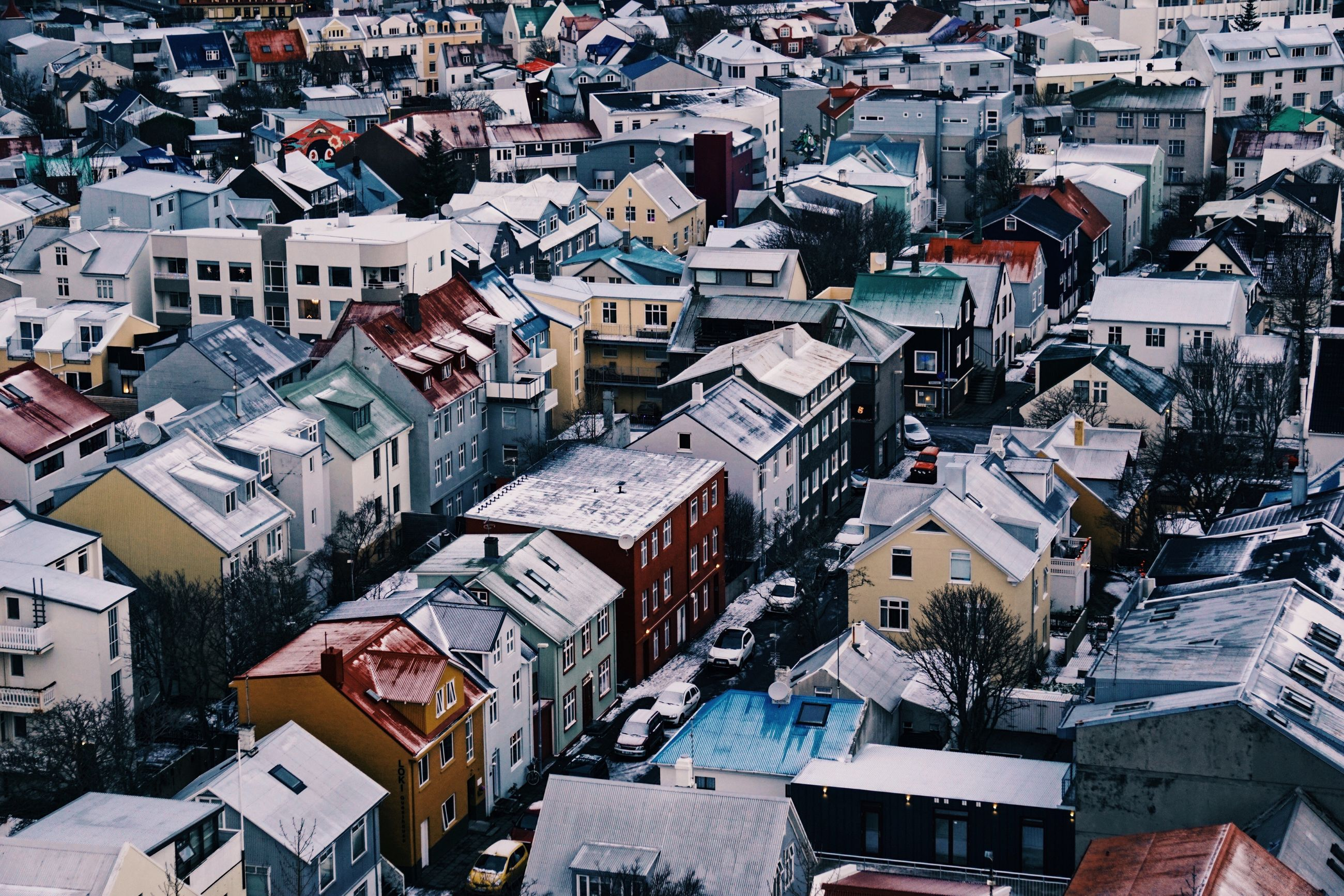 aerial view, city, cityscape, roof, travel destinations, no people, outdoors, day