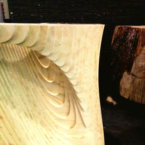 Designer tree trunk