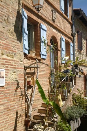 Toulousephotographer Brick Wall Toulouse Campagne Village Old Patrimoine Haute Garonne Occitanie South Of France Outdoors No People