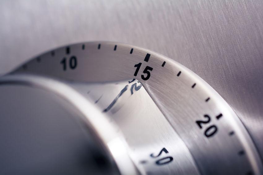 15 Countdown Fridge Reflection Alarm Aluminium Analog Chrome Clock Close-up Counting Fifteen Important Kitchen Timer Kitchen Utensil Macro Metal Minutes Monochrome No People Number Refridgerator Steel Time Timer