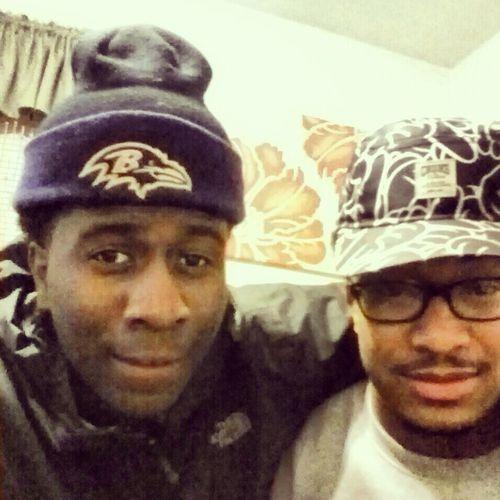 Me & bro @itsTomGucc
