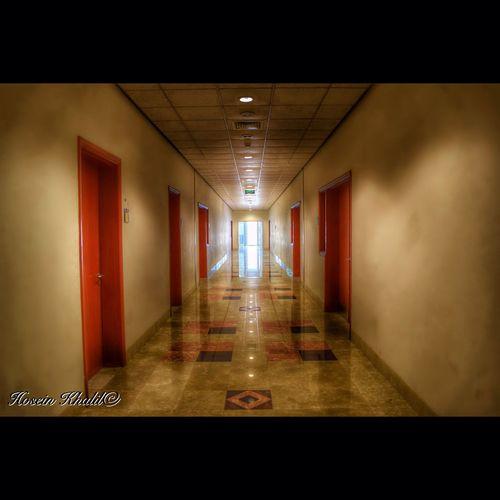 Colloge The Doors Light Hallway