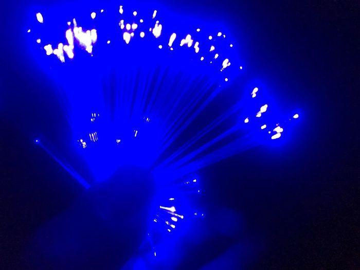 Fiber óptic with blue light Blue Fiber Optic Arts Culture And Entertainment Blue Event Music Nightlife Lighting Equipment Performance Illuminated Light Effect Fun Stage - Performance Space Popular Music Concert Excitement Night Indoors  Stage Light Nightclub Light Beam