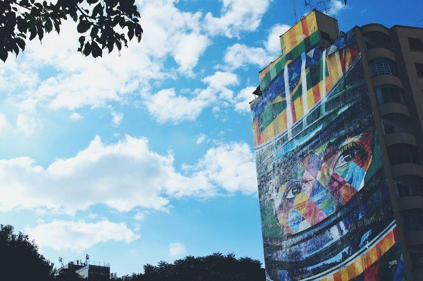 Cloud - Sky Multi Colored Outdoors AyrtonSenna Paulista Avenue São Paulo, Brazil