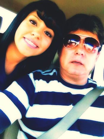With my dad !!:)