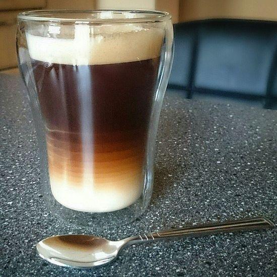 So der erste Kaffee ist weg. ? Coffee Coffeediary Tassekaffee Coffeelover Coffeetime