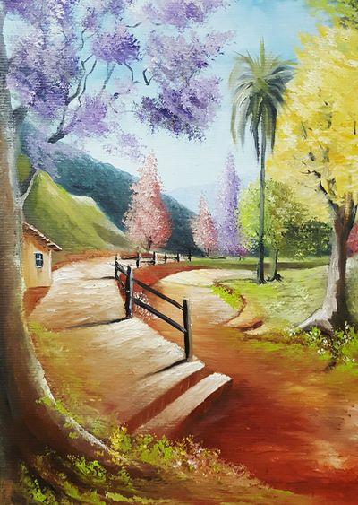 Por onde vou Pintura