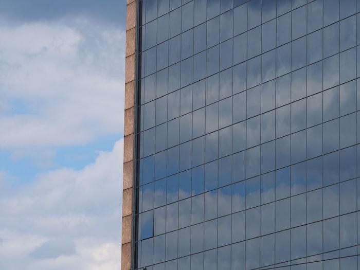 Architecture Blue City City Life Cloud Cloud - Sky Cloudy Modern Office Building Sky