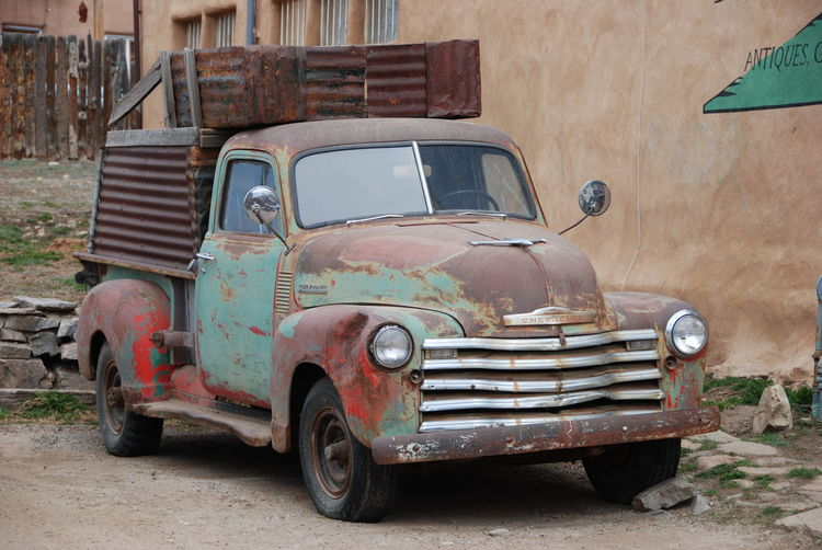 Old Chevrolet Truck Chevrolet Junk Cars