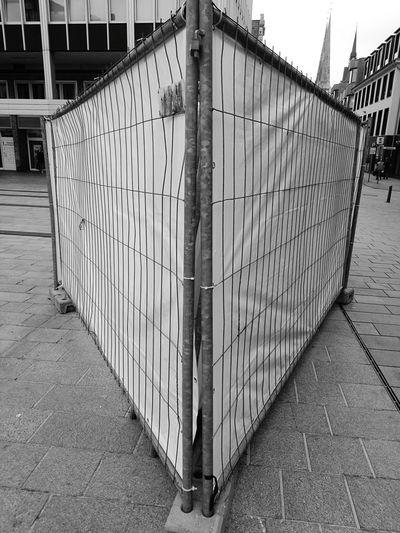 Innenstadt adventures in the city Marli Lübeck Prison Protection Architecture Razor Wire