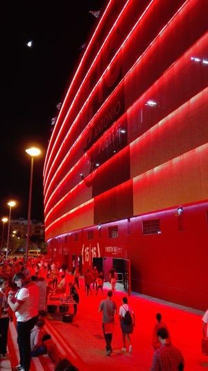 Estadio Ramón Sánchez Pizjuán Sevilla FC.