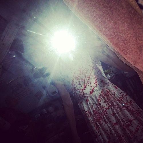 My Bloodsplatter Dress has arrived♡