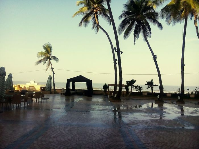 Morning view at juhu beach, Juhubeach Morning