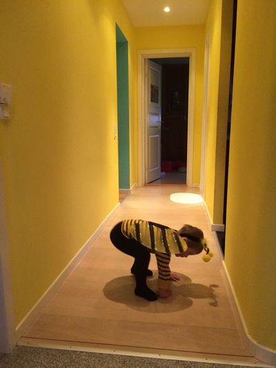 Bee Costume Domestic Room Lifestyles Out Of Focus Wierd Perspective Yellow Shades Of Yellow Paint The Town Yellow