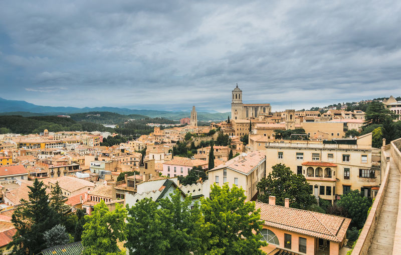 Game Of Thrones Girona Architecture Building Building Exterior Built Structure City Cityscape Cloud - Sky Day High Angle View House Nature No People Outdoors Plant Residential District Roof Sky Town TOWNSCAPE Tree