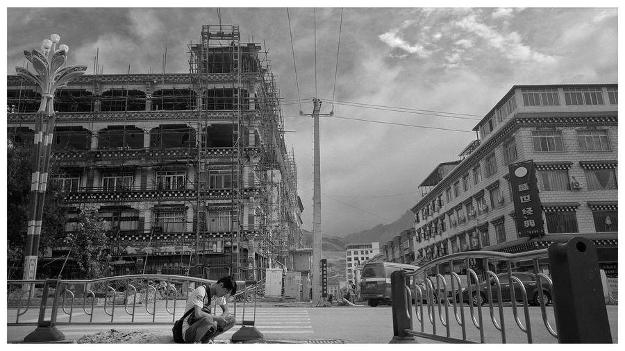 Tibetean Cloud - Sky Building Exterior Street