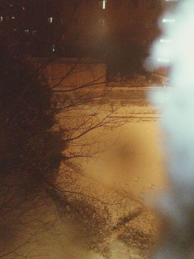 When a strom coming to Beppu : ) Allwhite