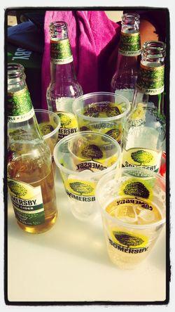 Summer or Somersby....Bring it On Portugal Algarve Summertime Drinks