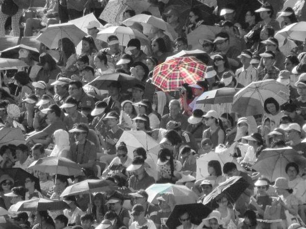 Large Group Of People Crowd People Outdoors Lifestyles Real People EyeEmNewHere The Week On EyeEm Sunny Weather Concerts & Events Umbrellas