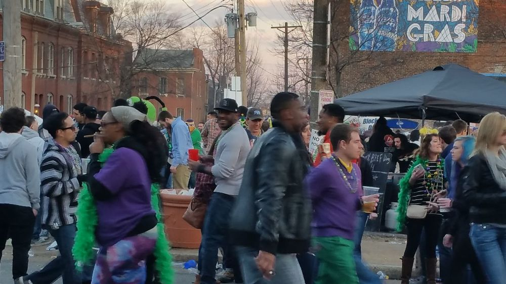 Colors Of Carnival Mardi Gras 2016. Soulard Farmers Market St. Louis, MO Street Photography Streetphotography People Photography People Walking