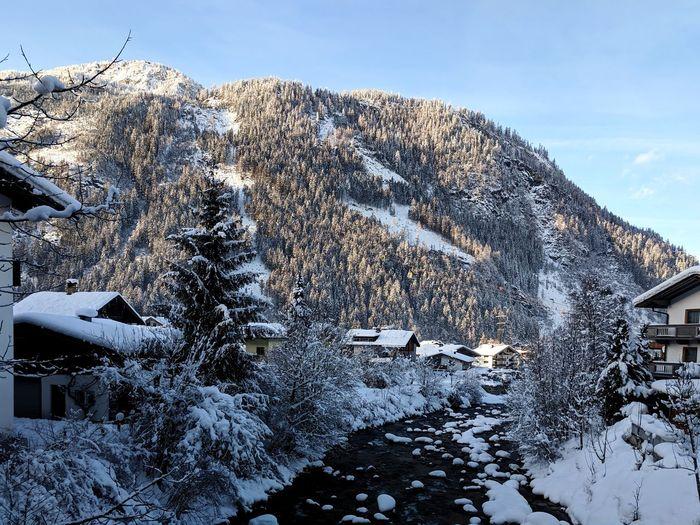 Servus Österreich! Snow Cold Temperature Winter Mountain Sky Close-up Snowcapped Mountain Mountain Range Mountain Peak Scenics Snowcapped Tranquil Scene Non-urban Scene Calm